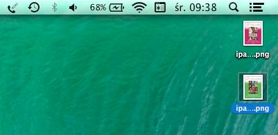 Zmiana długości nazw plików na biurku w OS  X